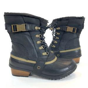 Sorel Womens Conquest Carly Short Rain Duck Boots